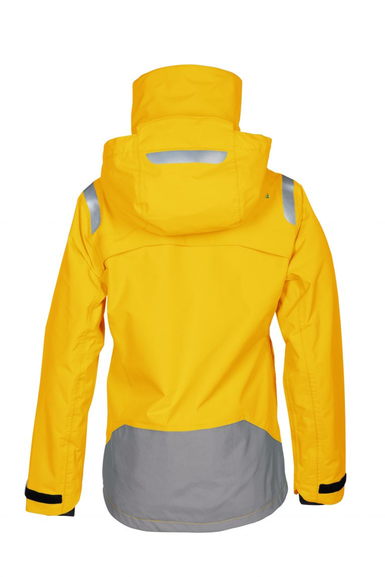 First Edition women sailing jacket yellow